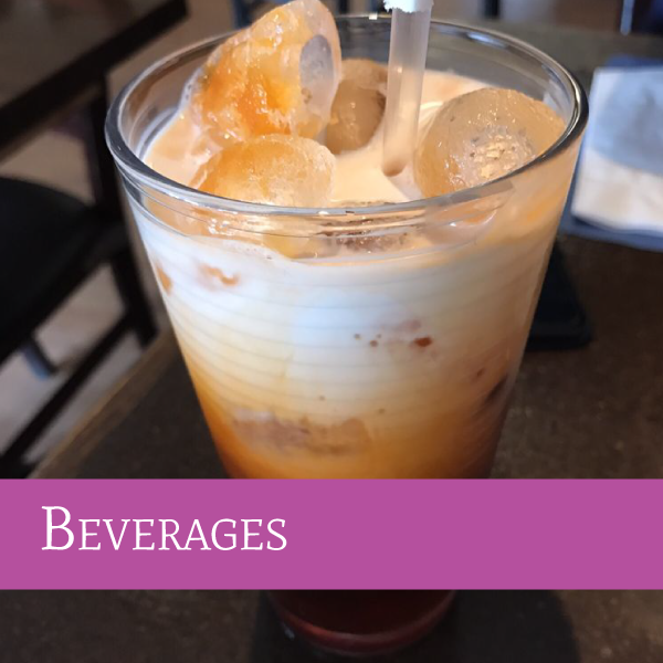 Beverages | Darunee Thai Cuisine, San Marcos, California
