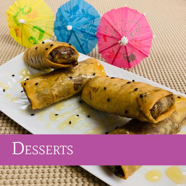 Desserts| Darunee Thai Cuisine, San Marcos, California