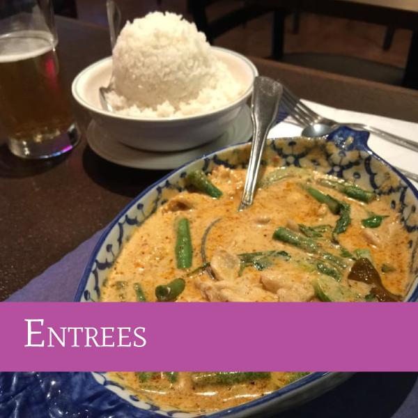 Entrées | Darunee Thai Cuisine, San Marcos, California