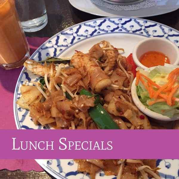 Lunch Specials | Darunee Thai Cuisine, San Marcos, California