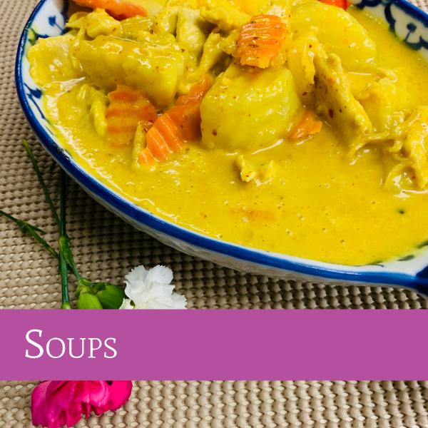 Soups | Darunee Thai Cuisine, San Marcos, California